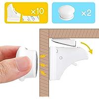 Cierres Seguridad Bebé,Levin Cerradura Magnética Con 10 Cierres