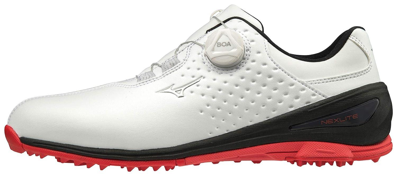 [ミズノゴルフ] ゴルフシューズ ネクスライト006 51GM1920 メンズ 26.0 cm 3E ホワイト/ブラック B07KCJYX71