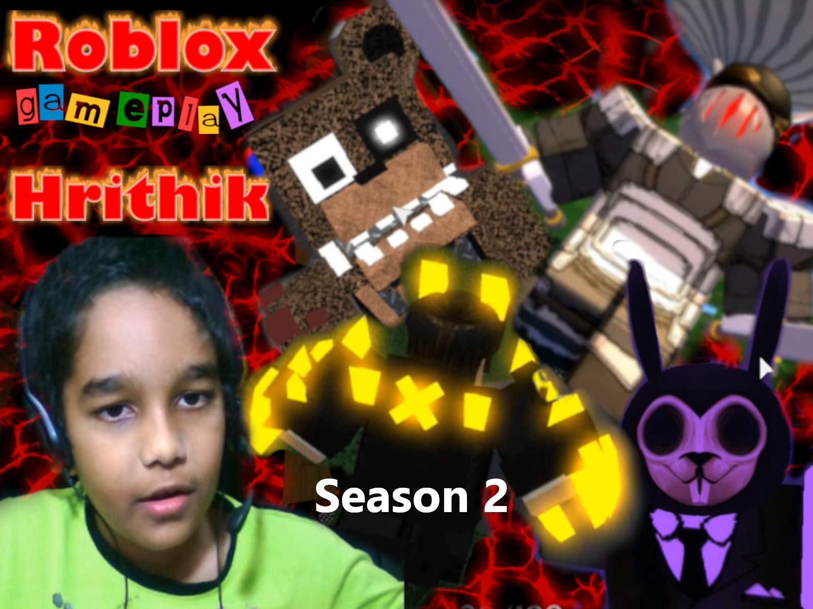 Amazon Com Watch Clip Roblox Gameplay Hrithik Prime Video