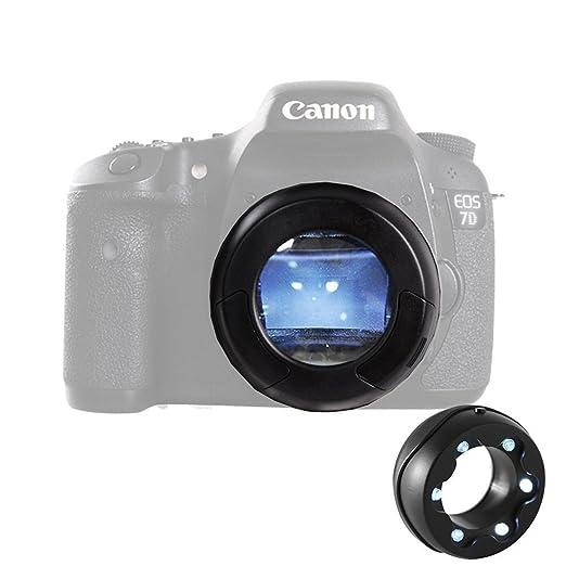 6 opinioni per Micnova MQ-7X Lente sensore a 6-LED illuminati con ingrandimento 7x per Canon 6D