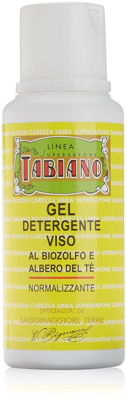 Pilogen Carezza, Gel Detergente Viso al biozolfo e albero del tè normalizzante, 200 ml 371