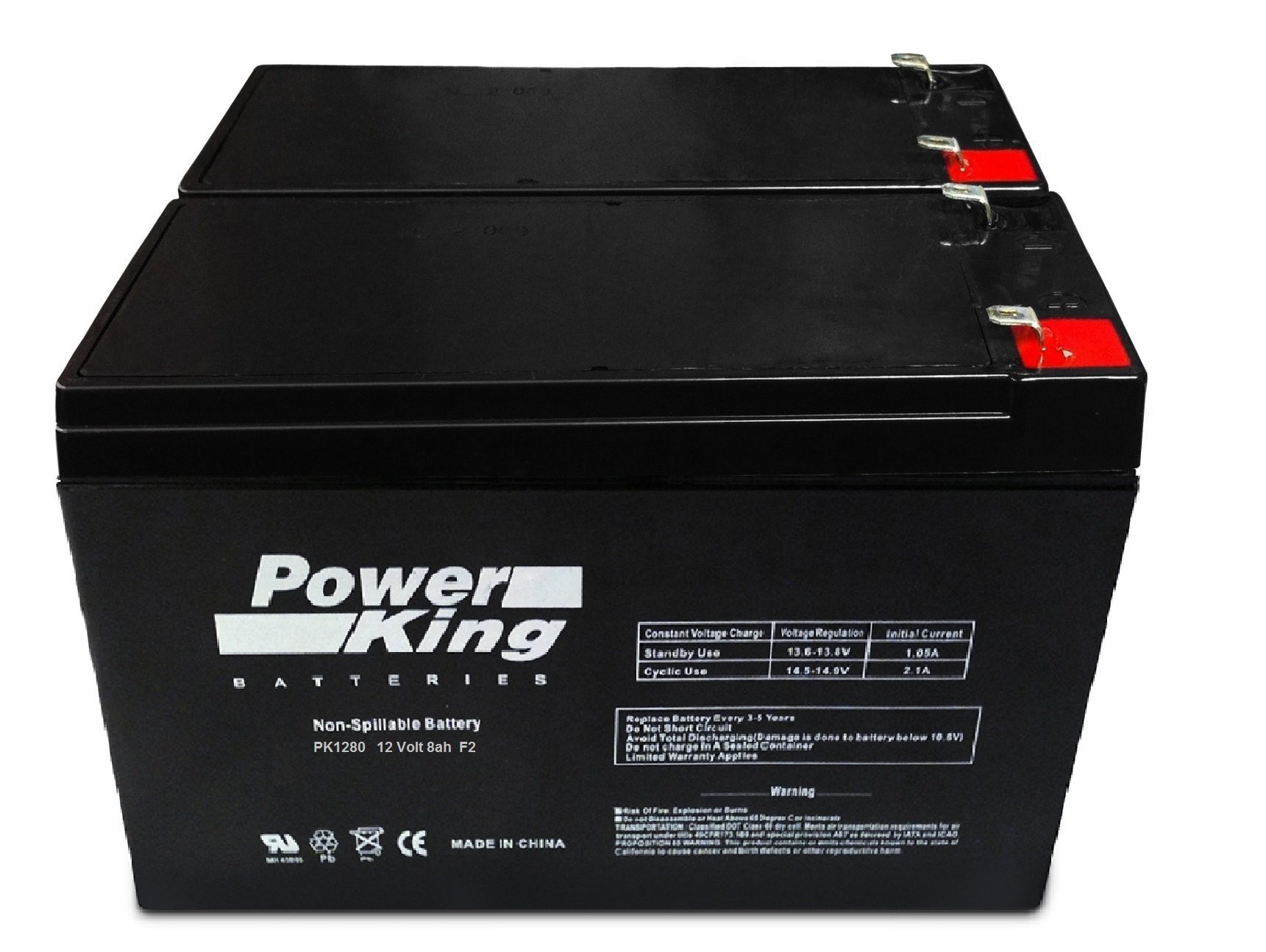 APC Back-UPS XS 1200 Replacement Battery Kit of 2