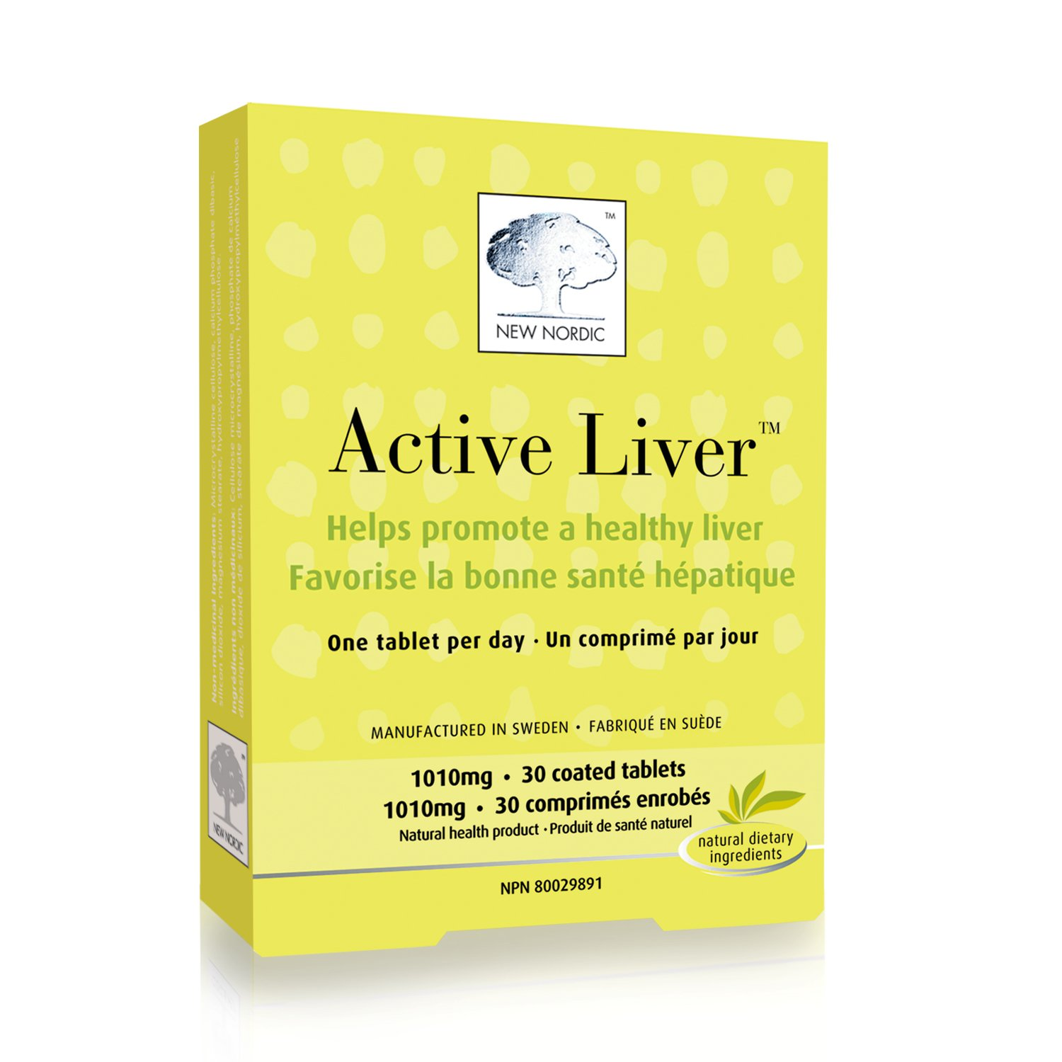 New Nordic Inc Active Liver (30 Tablets)