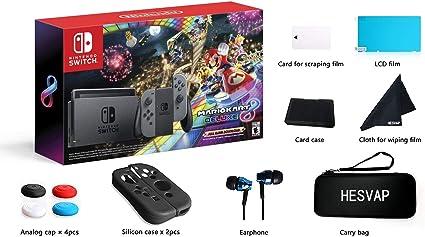 Nintendo Switch – Gray Joy + Mario Kart 8 Deluxe (Full Game ...