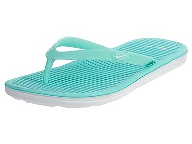 Nike Damen Wmns Solarsoft Thong 2 Flip-Flops, Türkis (Hyper Turq/White