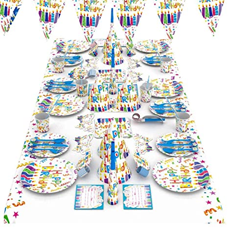 QAWSED Suministros For Fiestas Cumpleaños Infantiles Cartas ...