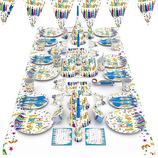 YSYYSH Suministros For Fiestas Cumpleaños Infantiles Cartas ...