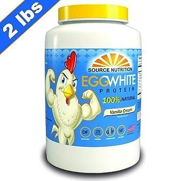 Amazon Com Egg White Protein Powder All Natural Ingredients 25g
