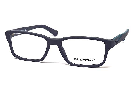 925e3005fd0a Emporio Armani EA3087 Eyeglass Frames 5502 - Matte Grey 54mm at ...