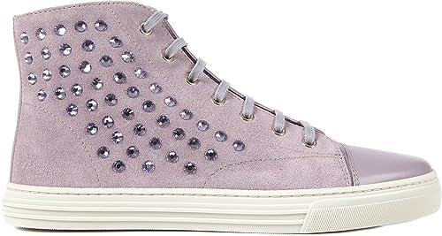Suede Trainers Sneakers Purple