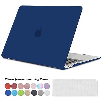 TECOOL Funda para 2018 2019 MacBook Air 13 Pulgadas A1932, Cubierta de Plástico Dura Case Carcasa con Tapa del Teclado para Nuevo MacBook Air 13 con ...