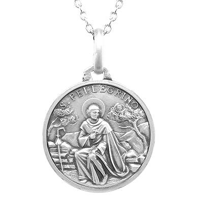 Amazon fiorentino saint peregrine laziosi21 mm fiorentino saint peregrine laziosi21 mm medal mozeypictures Image collections