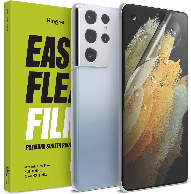 Protector de pantalla Ringke Easy Flex de Galaxy S21 Ultra