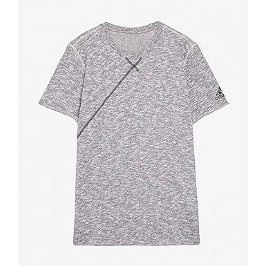 deaf51ef6a7c adidas Performance T-Shirt de Basketball Cross-UP Tee Light Grey - SHAZ4327