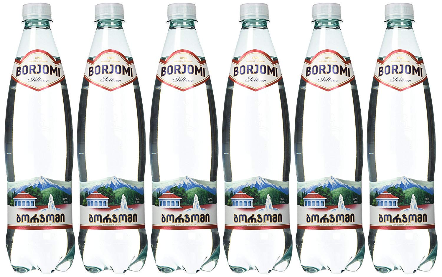 Borjomi Mineral Water from Georgia 0.75l (1 case) 6 bottles