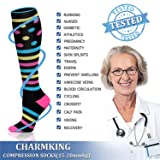 CHARMKING Compression Socks 15-20 mmHg is BEST