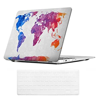 Amazon icasso macbook air13 inch case with keyboard cover art icasso macbook air13 inch case with keyboard cover art printing matte hard shell plastic protective cover gumiabroncs Choice Image
