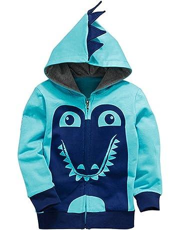 ba759d7cc5cc Garsumiss Little Boys Cute Animal Dinosaur Hoodie Sport Long Sleeve Cartoon  Hooded