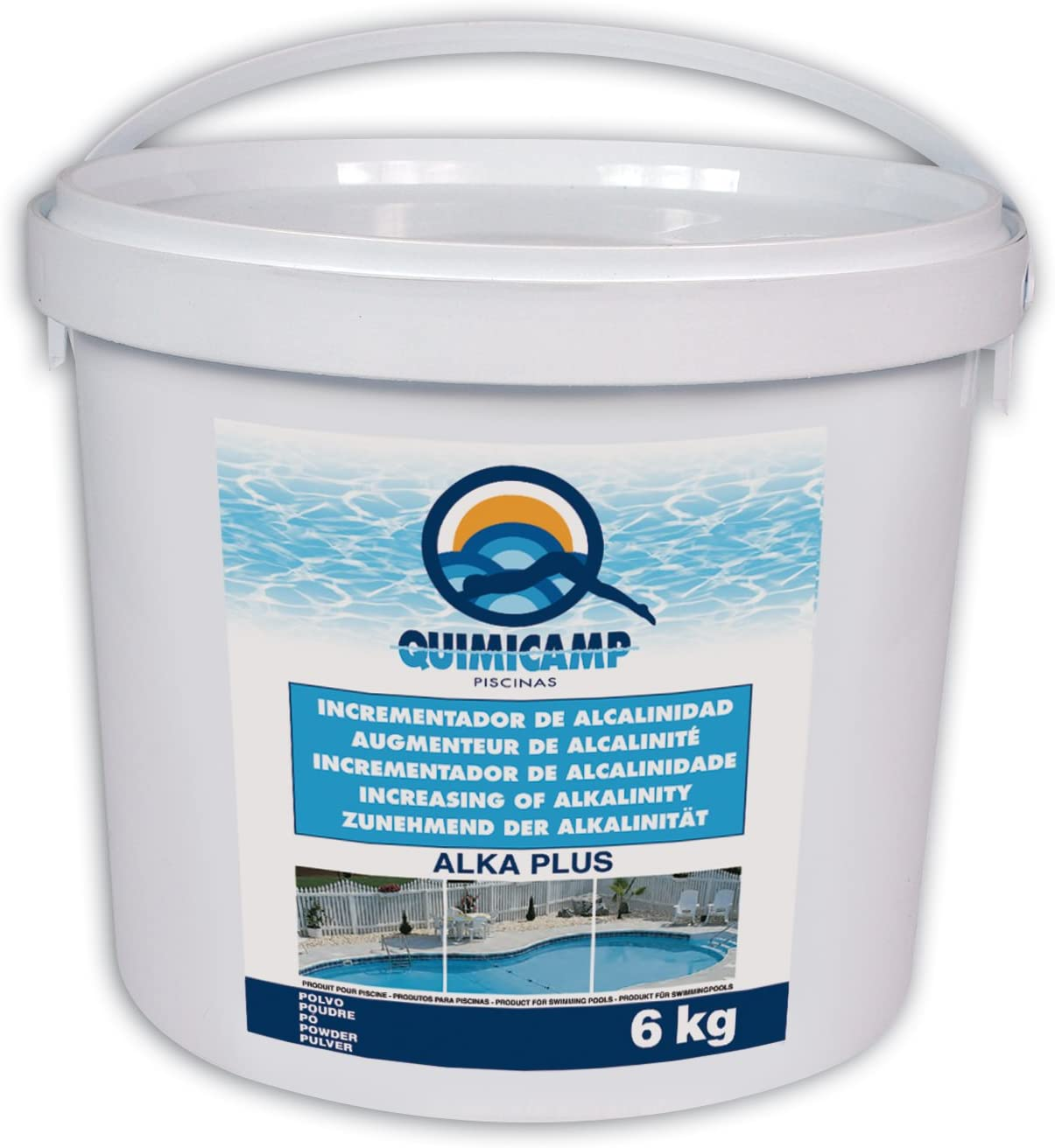 Quimicamp Alka plus (Anti-cal para piscina) 6 Kg - 203306
