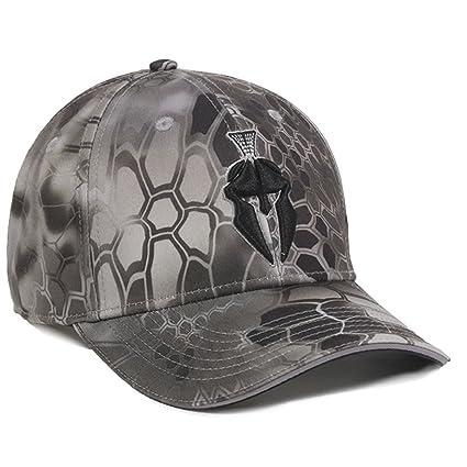 7cd692c52c9 Image Unavailable. Image not available for. Color  Kryptek Raid Camo  Spartan Helmet Hunting Hat