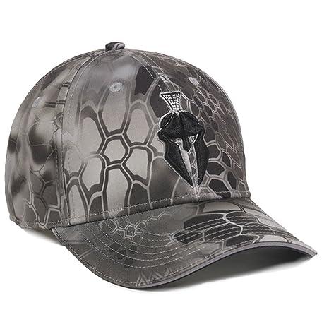 Amazon.com   Kryptek Raid Camo Spartan Helmet Hunting Hat   Sports ... 7719cfff21ac