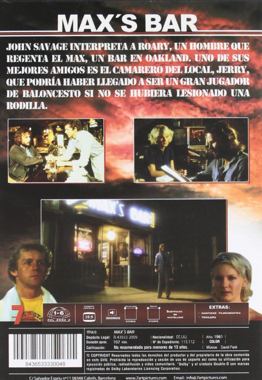 Amazon.com: MaxS Bar (Import Movie) (European Format - Zone 2) (2010) John Savage; David Morse; Diana Scarwid; Amy Wri: Movies & TV