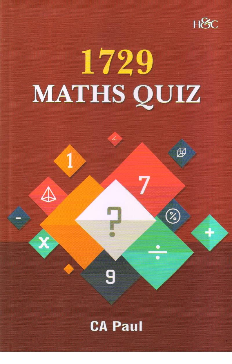 Buy 1729 Maths Quiz Book Online at Low Prices in India   1729 Maths ...