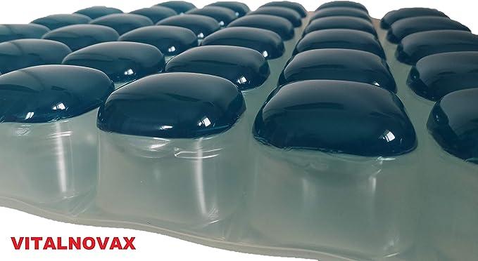 Vitalnovax - Cojín antiescaras de gel y aire de alta calidad ...