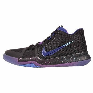 Nike Kids Youth Kyrie Basketball Shoes GS, Black / Deep Royal Blue