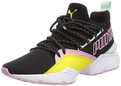 8fd9860d9e366f Puma Muse Maia TZ Damen Sneaker  Amazon.de  Schuhe   Handtaschen
