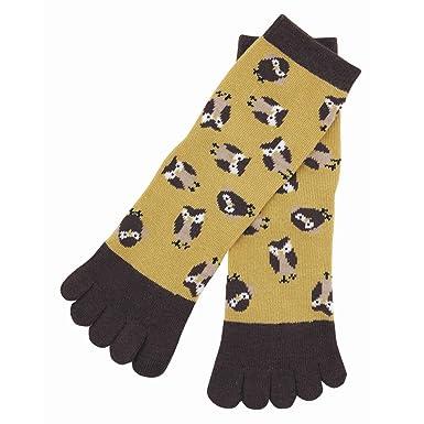 Amazon.com: Japón Ninja 5toe calcetines 30606602 búho Kyoto ...