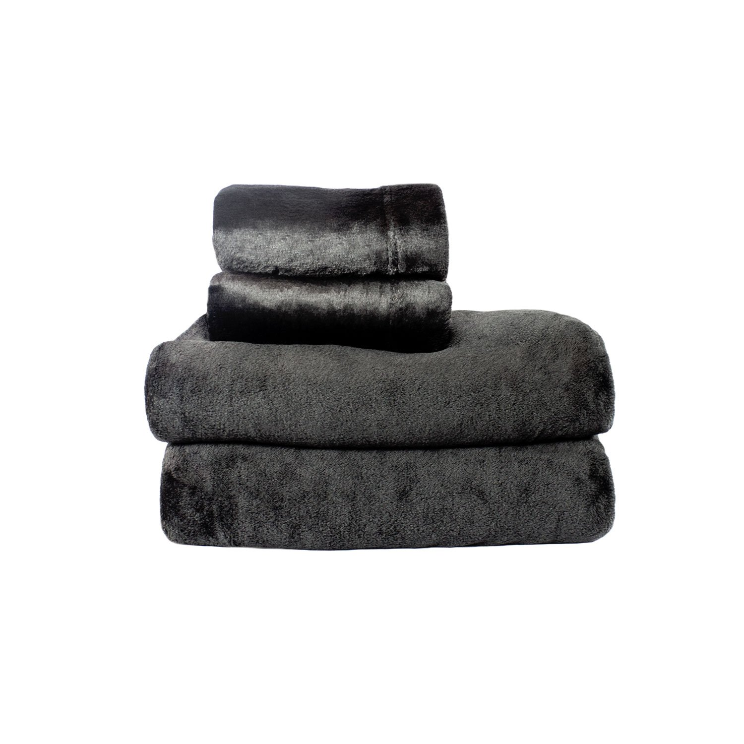Cozy Fleece Comfort Collection Velvet Plush Sheet Set
