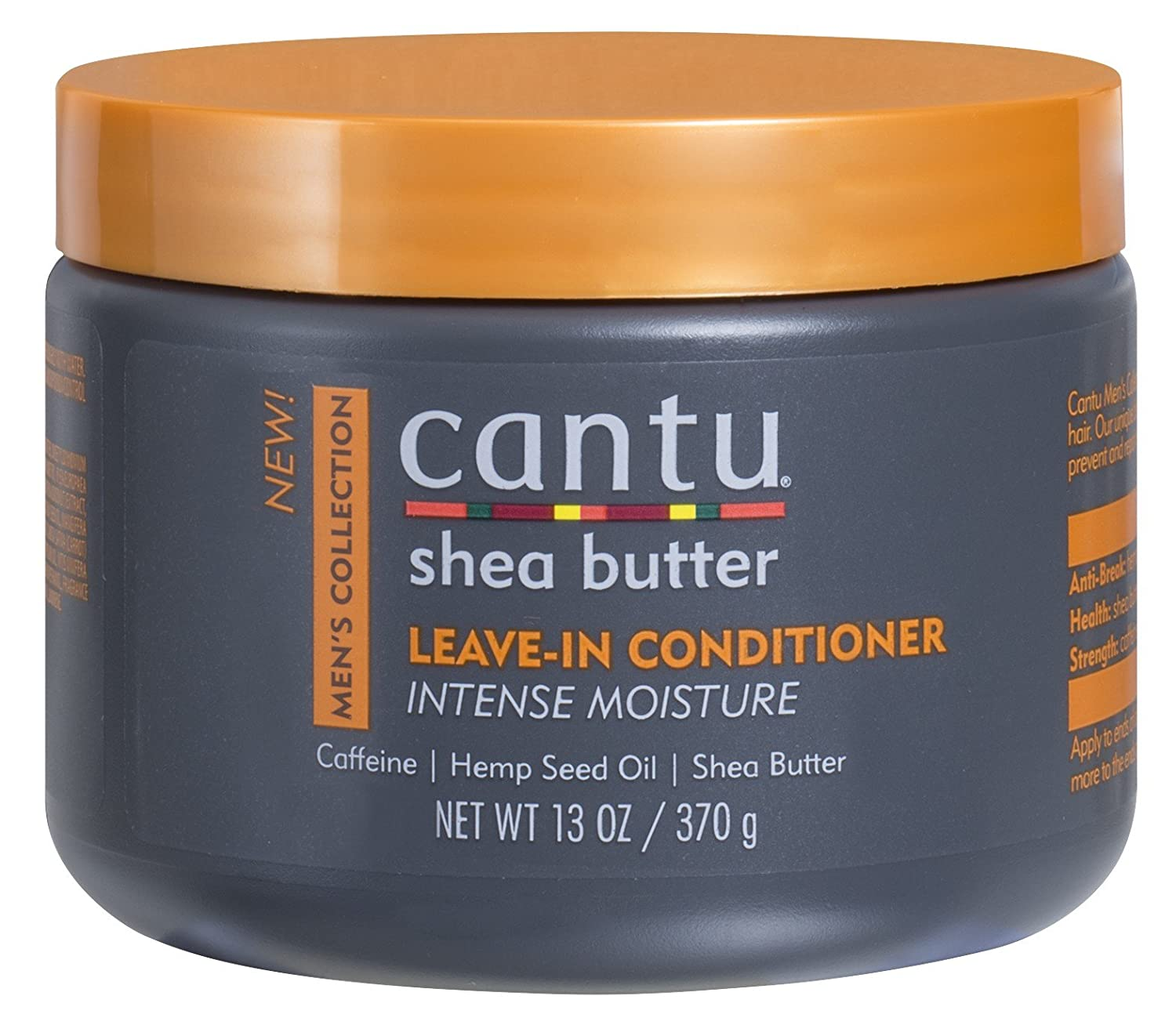 Cantu Mens Leave-In Conditioner 13 Ounce Jar (384ml)