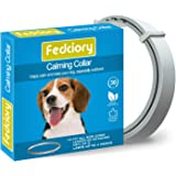 Fedciory Calming Pheromone Collar for Dogs Adjustable Collars with Long-Lasting Calm Effect Relieve Anxiety for All…
