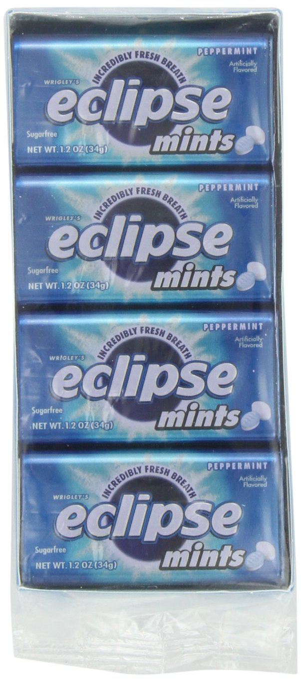 Wrigleys Eclipse Mints Peppermint, 1.2 oz.  (Pack of 8) by Wrigley's (Image #6)
