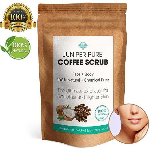 闪购! 5颗星评价100%纯天然有机咖啡磨砂膏