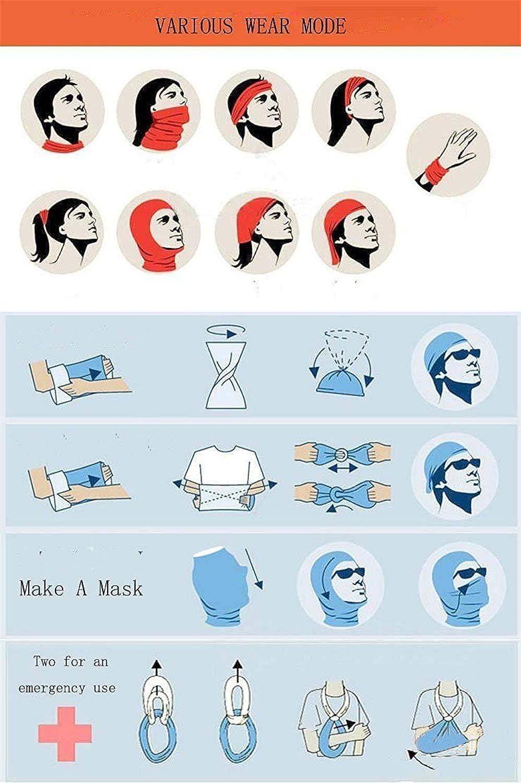 Headwear Headband Fantasy Yin Yang Head Scarf Wrap Sweatband Sport Headscarves For Men Women