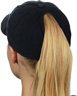 Ponyflo Womens Feather Light Active Ponytail Baseball Cap