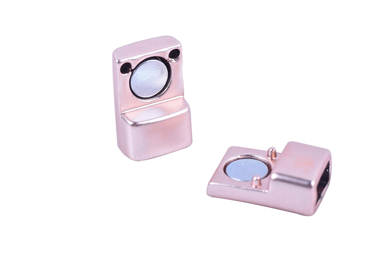 konmay 5/Sets 6.0/mmx3.0/mm Tiny magn/ético joyas cierres para pulsera haciendo