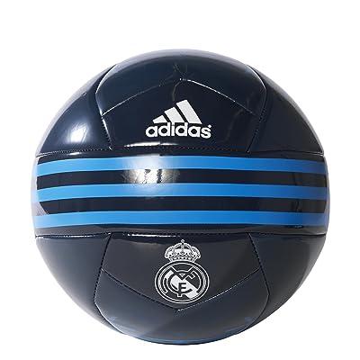 adidas Real Madrid - Balón de fútbol, Color Negro/Azul/Blanco, tamaño 5: Ropa y accesorios