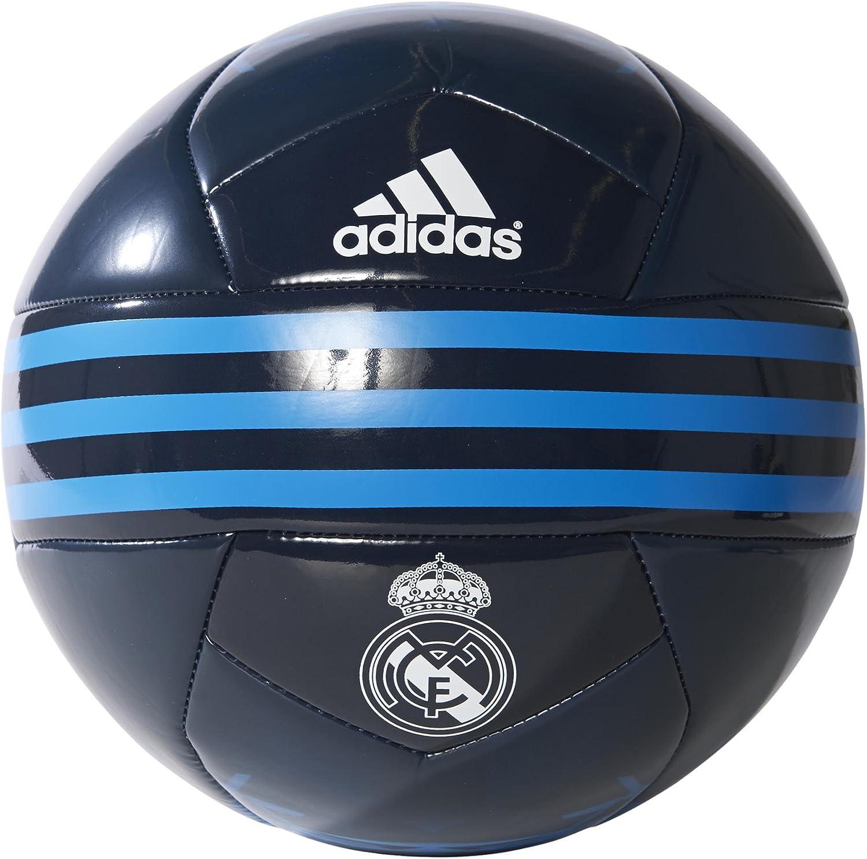 adidas Real Madrid - Balón de fútbol, Color Negro/Azul/Blanco ...