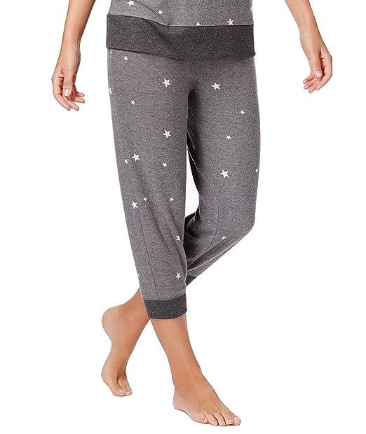3cab404a54044 Jenni by Jennifer Moore Women s Printed Jogger Capri Pajama Pants (XXL