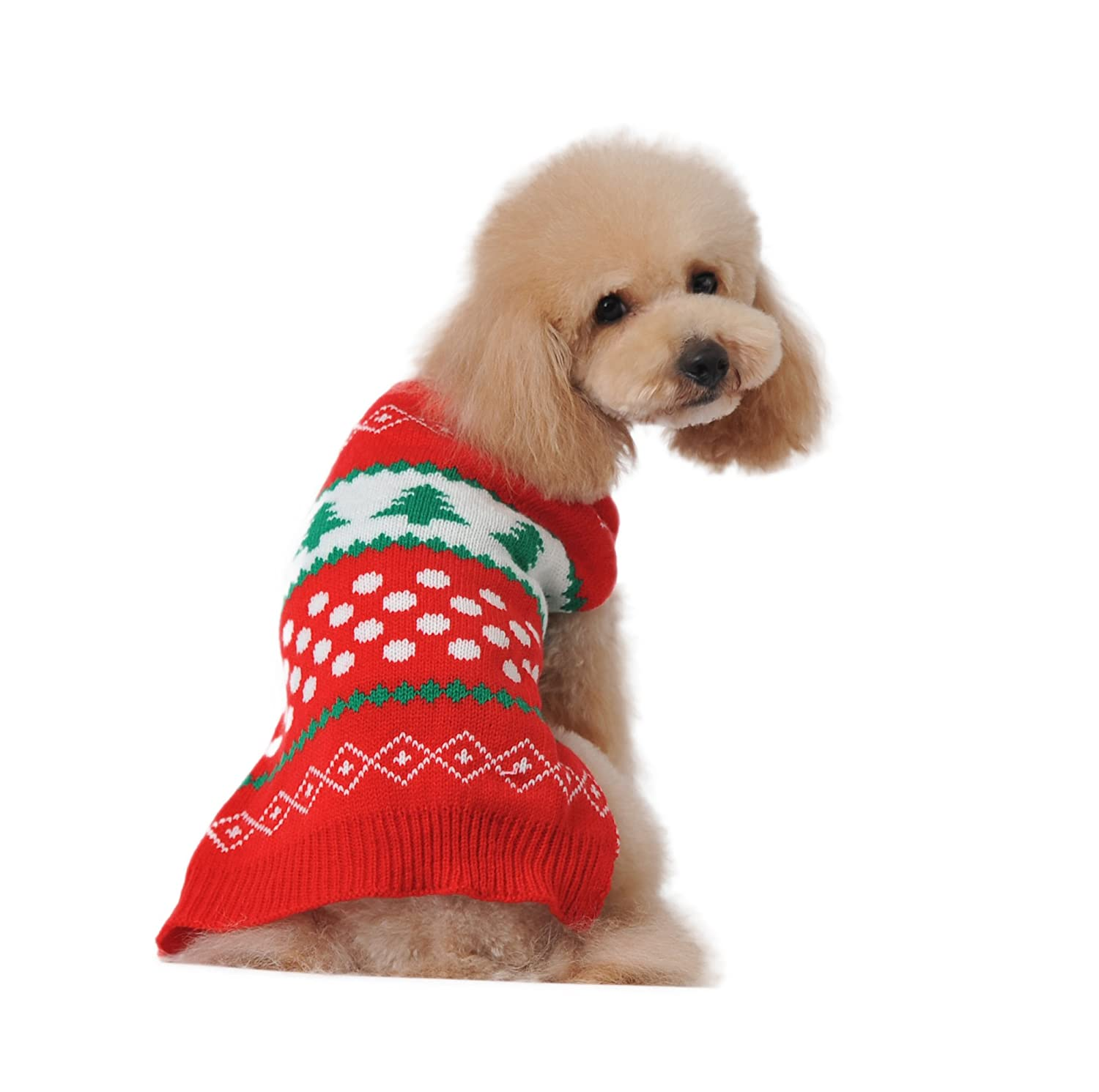 Amazoncom Dog Sweater For Cat Cute Red Small Puppies Teacup - 22 adorable animals wearing miniature sweaters