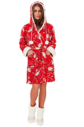Loungeable Womens Luxury Nightie Ladies Designer All in One Dressing Gown   Amazon.co.uk  Clothing 6b6d025b8