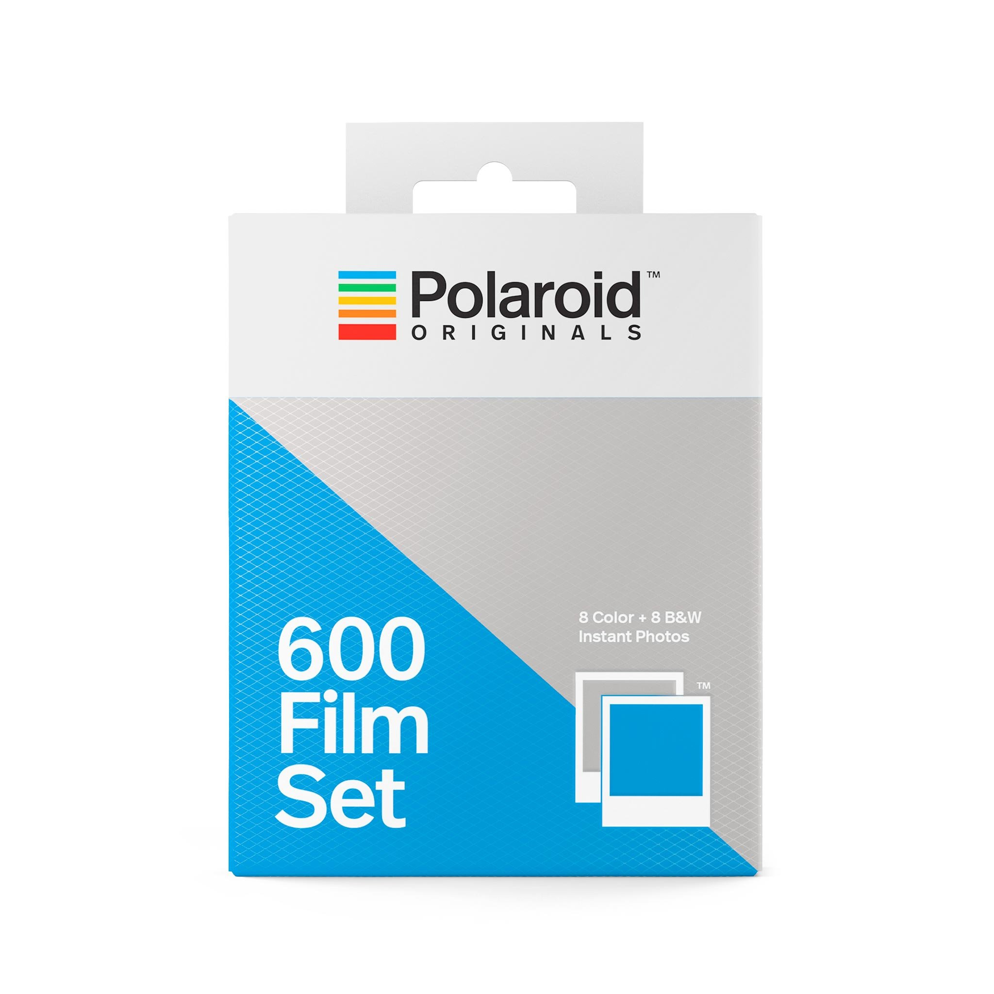 Polaroid Originals 600 Film Set 1 Color   1 BW