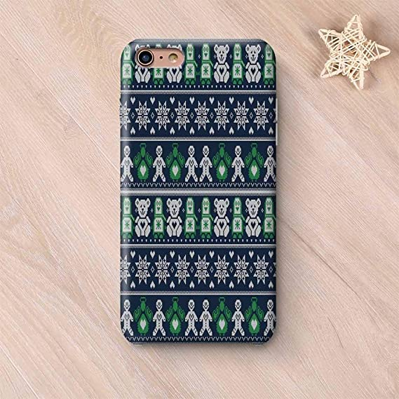 low priced 42278 8e36e Amazon.com: Christmas Elegant Compatible with iPhone Case ...