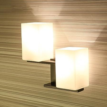 William 337 Lámpara de Pared LED Dormitorio Moderno Lámpara de cabecera Luces de Lectura Creativas Escaleras Luces de Pasillo Obras de Hotel Lámpara de Pared Lámparas (Color : Negro): Amazon.es: Hogar
