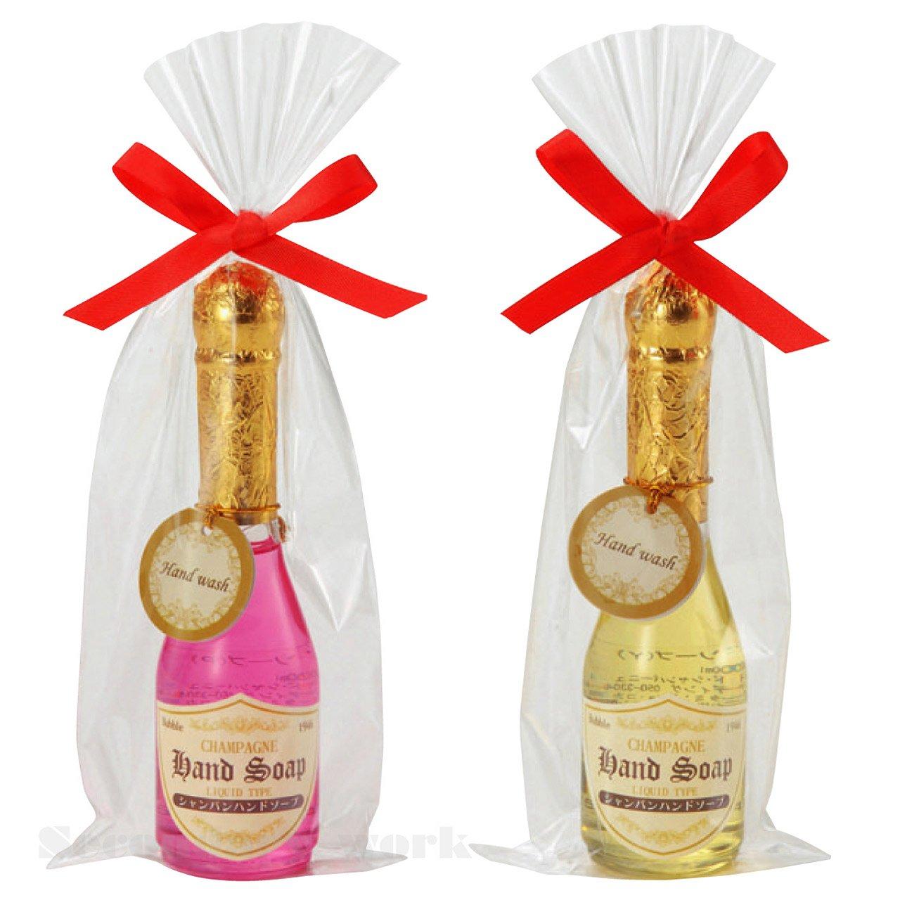 【96本セット販売(2色取混ぜ)】シャンパンハンドソープ イエローピンク2色取混ぜ B01HEO7ADE