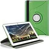 kwmobile Cover 360°per Acer Iconia Tab 10 (A3-A20) Cover con supporto- cover prottetiva tablet cover con funzione supporto in colore verde