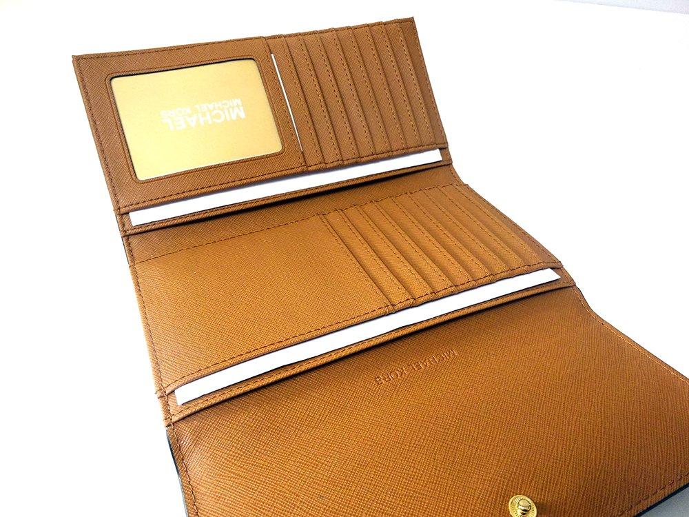 Michael Kors Jet Set Travel Large Trifold Leather Wallet Brown/Acorn by Michael Kors (Image #6)